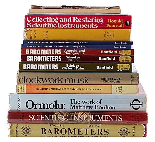 Barometers, scientific instruments and mechanical