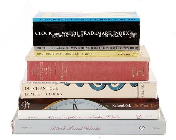 Continental clockmaking - eleven volumes: Ortenber