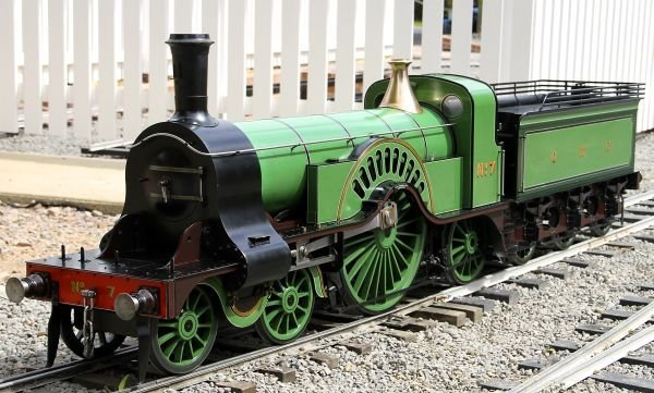 An exhibition standard 7 ¼ inch gauge model of a G