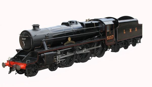 An exhibition standard 7 ¼ inch gauge model of Lon