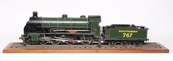 A 2 1/2 inch gauge model of Southern Railway King