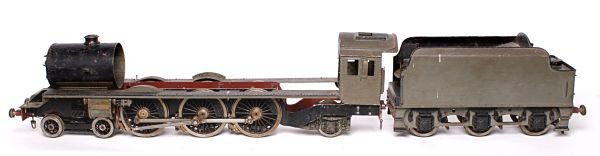 A part built 3 1/2 inch gauge model of a London Mi