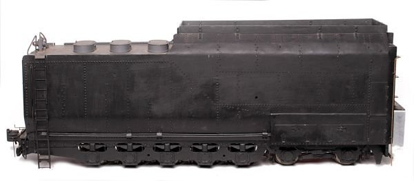 A well engineered part-built model of a 3 1/2 inch