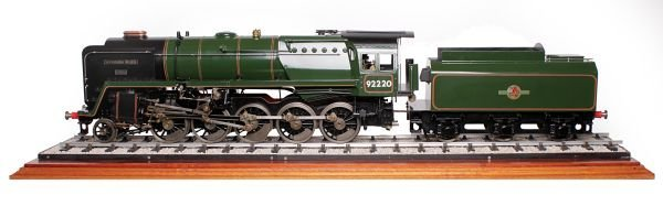 A fine exhibition standard 3 ½ inch gauge model of