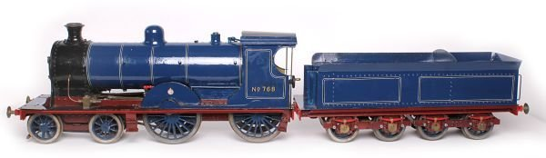 A 5 inch gauge Lancashire   Yorkshire Railway 4-4-