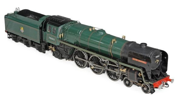 A 5 inch gauge model of British Railways Class 7MT