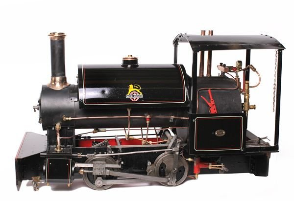 A 5 inch gauge model of a British Railways 0-4-0 '