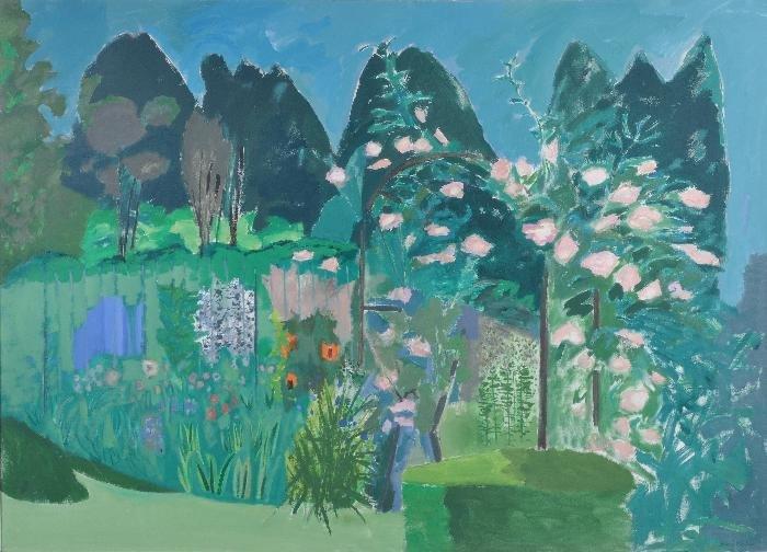 David Alan Redpath Michie (b.1928) The Rose Trelli
