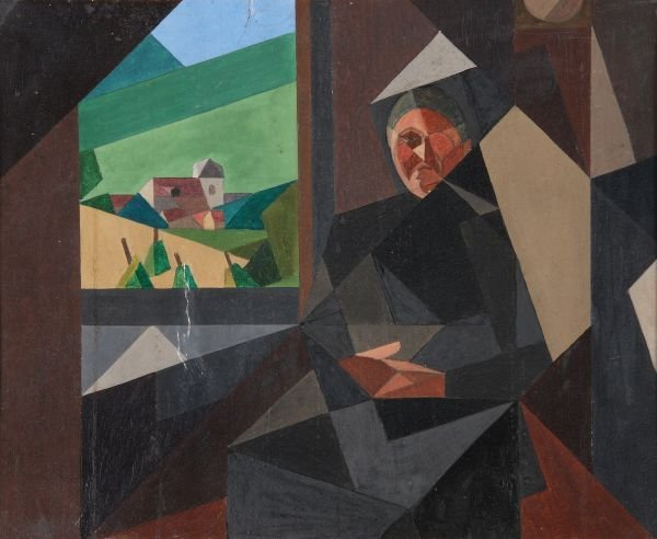 Attributed to André Leveillé (1880-1963) Femme dev