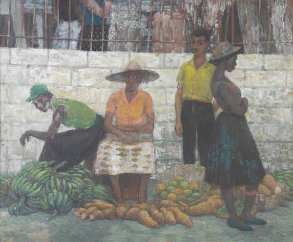 Robert Sawyers A.R.C.A. (1923-2002) Montego Bay ma