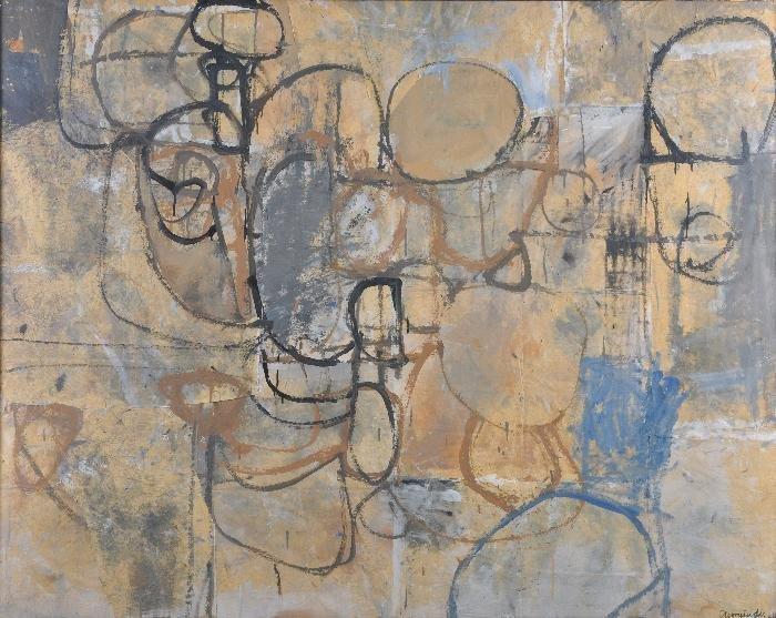 Nicholas Georgiadis (1921-2001) Close up, 1961 Gou