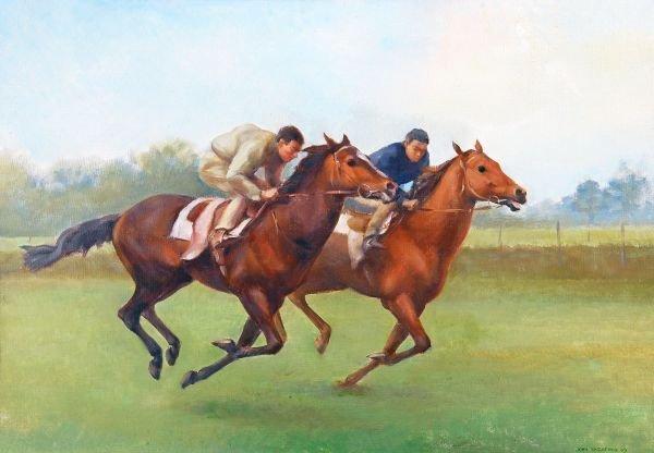 John Rattenbury Skeaping R.A. (1901-1980) On the g