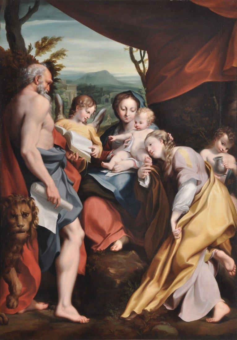 After Antonio Allegri, called Il Correggio - Madon