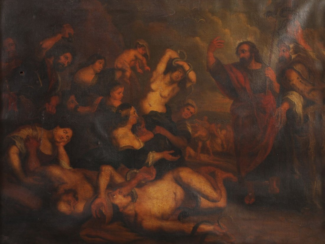 After Sir Peter Paul Rubens - Moses and the Brazen