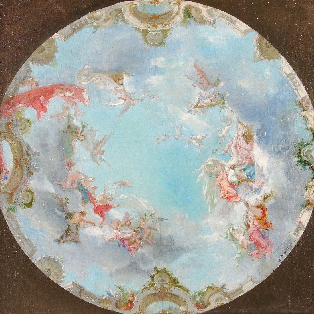 Alexis Joseph Mazerolle (1826-1889) - Allegorical
