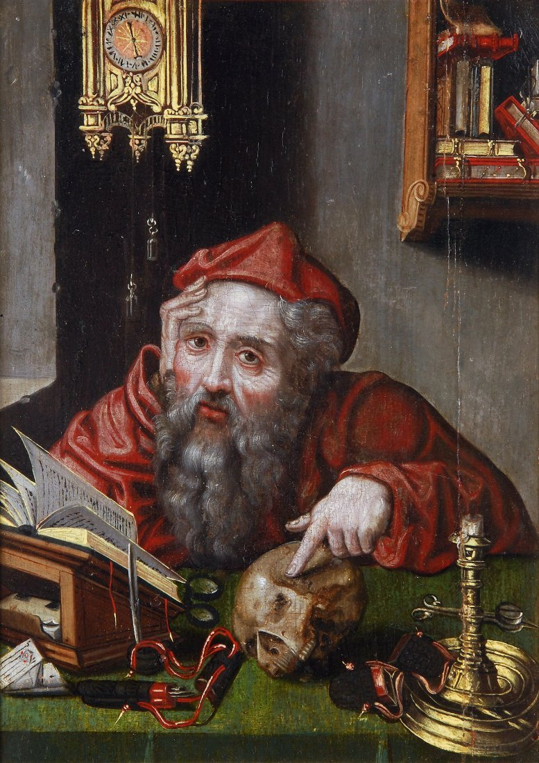 Manner of Quentin Metsys - St. Jerome