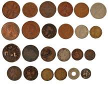 British and World coins a small quantity mostly