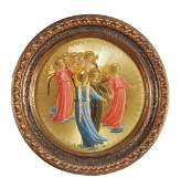 After Fra Angelico - Trumpeting angels