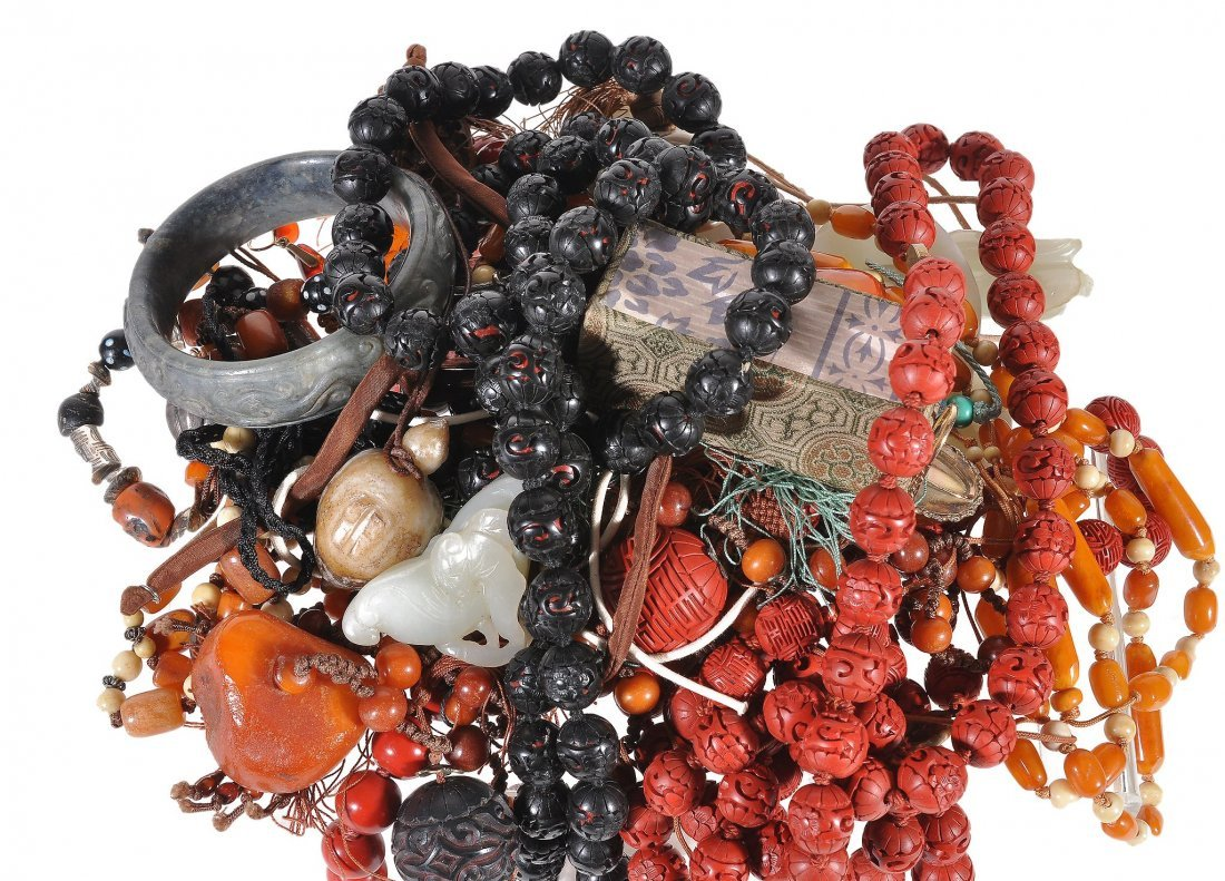 A collection of Oriental jewellery , to include