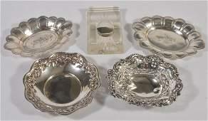 A late Victorian silver bon bon dish by William