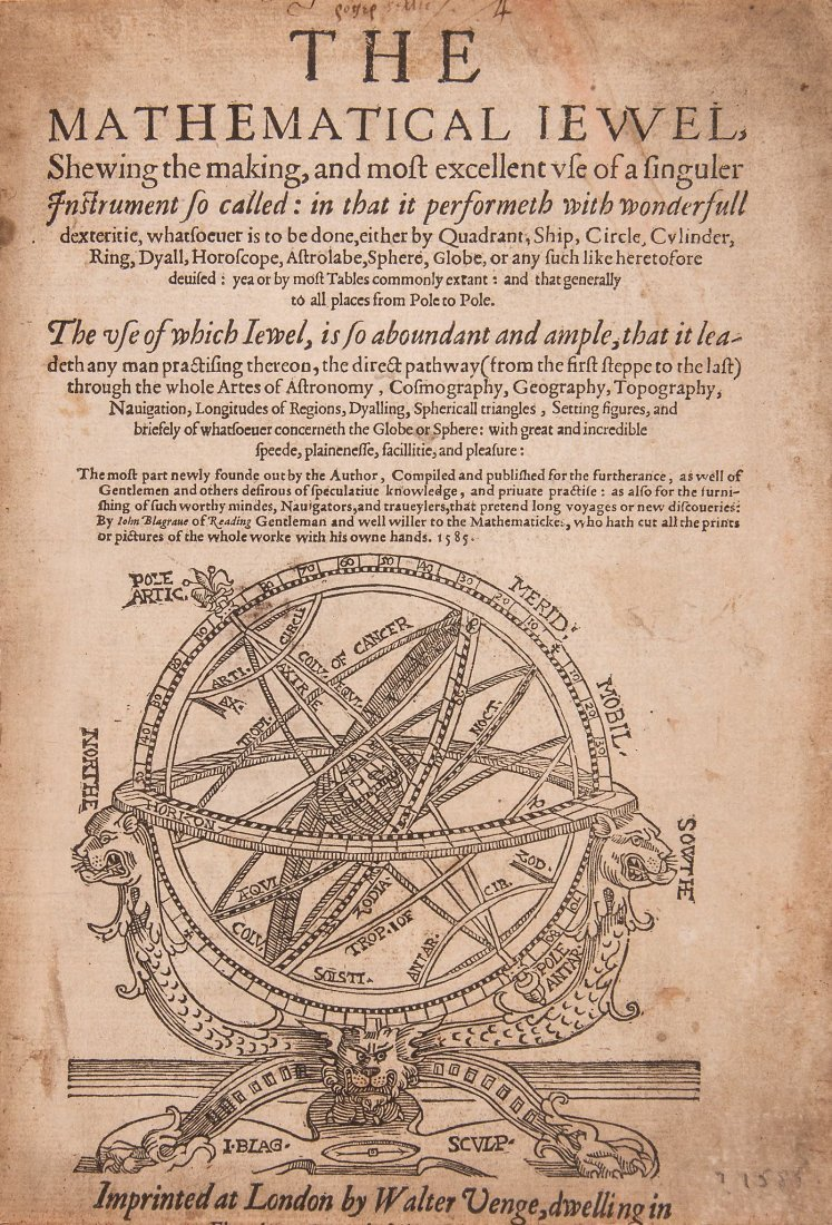 Blagrave (John) - The Mathematical Jewel,