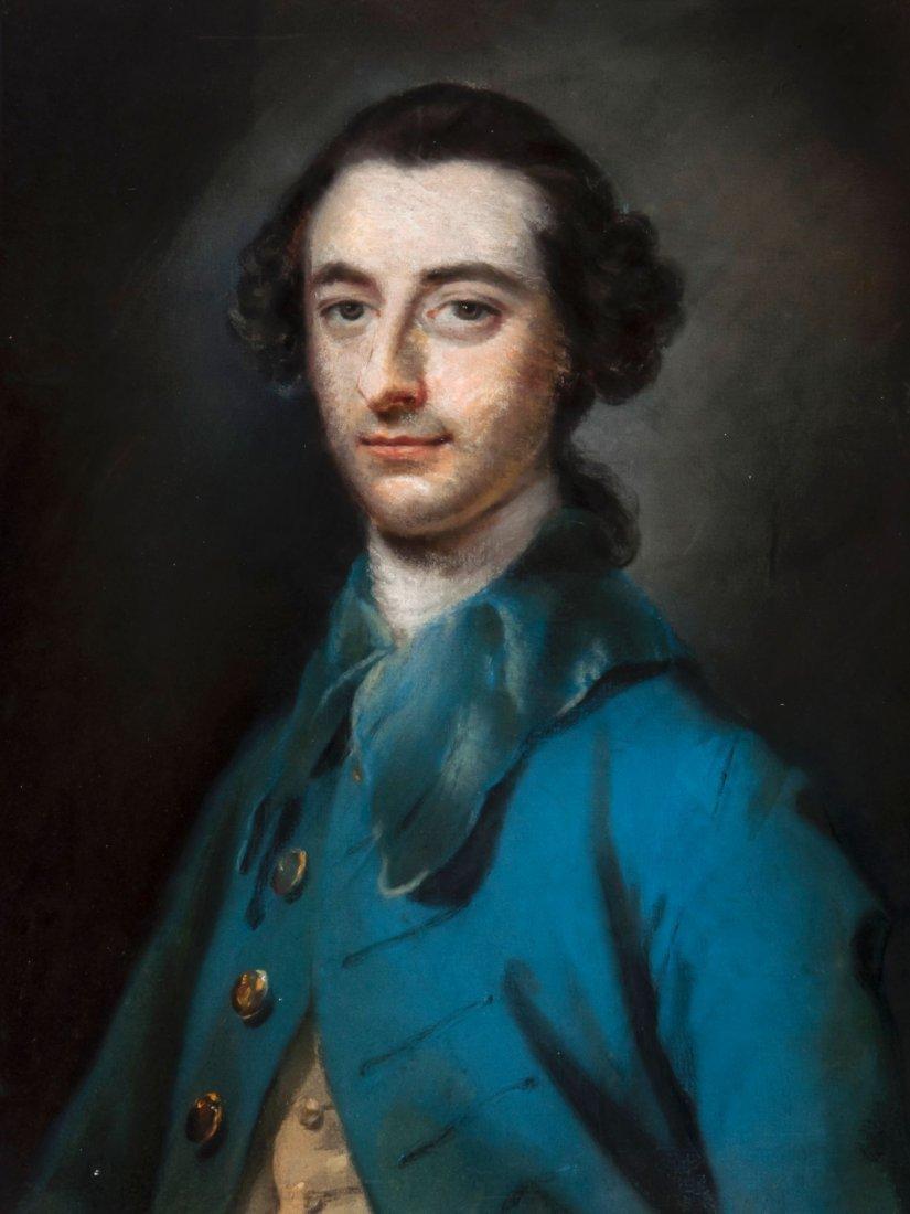 Francis Coates (1726-1770) - Portrait of a gentleman in