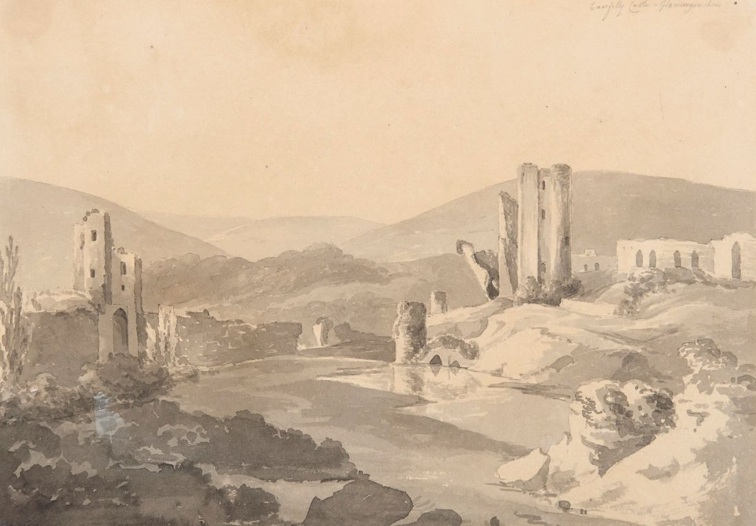 William Day (1764-1807) - Caerfilly Castle,