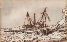 Philip James de Loutherbourg 17401812  Boats at