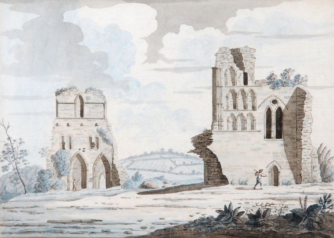 Samuel Hieronymus Grimm (1733-1794) - Beeval Abbey,