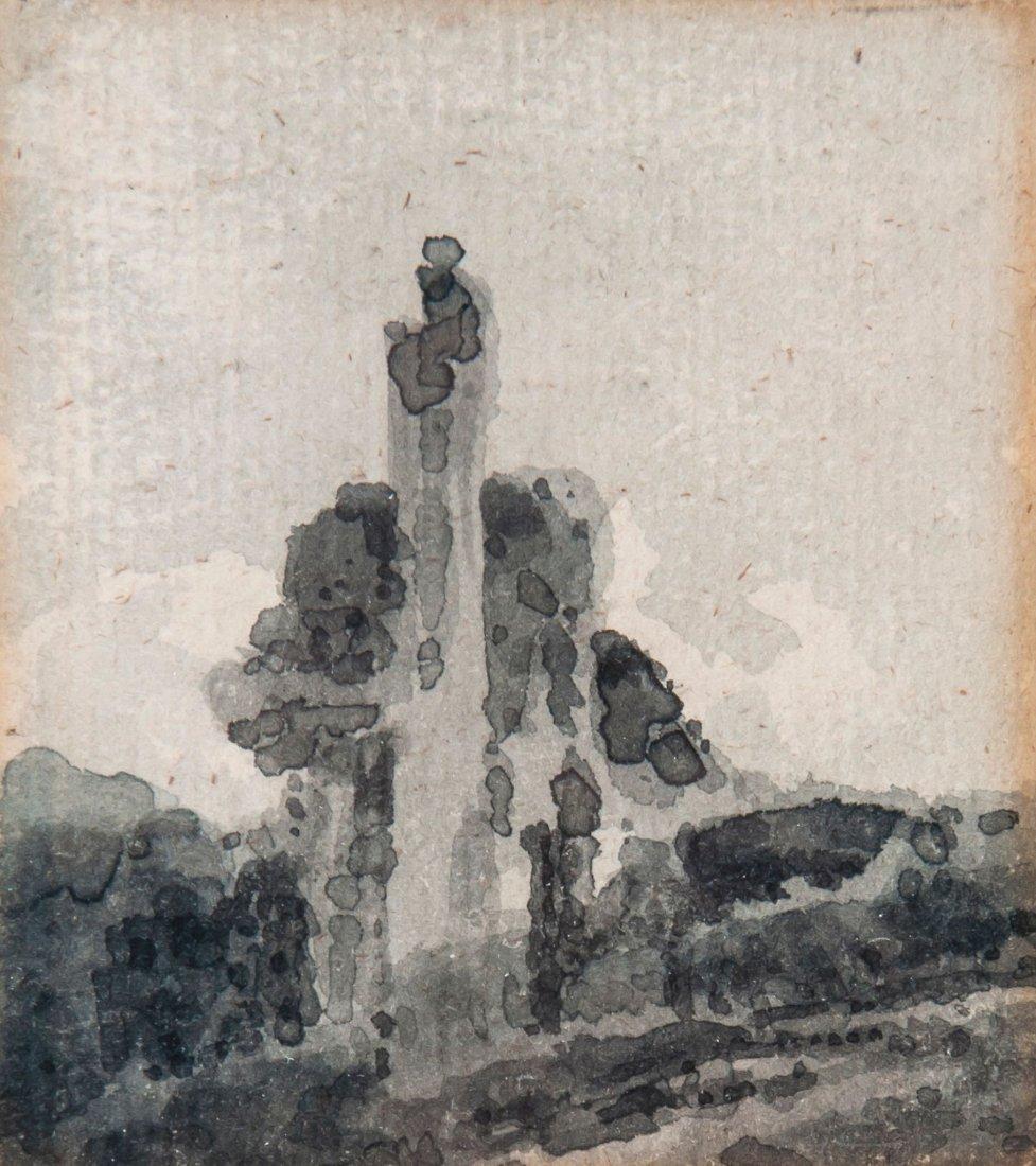 Thomas Girtin (1775-1802) - Study of abbey ruins