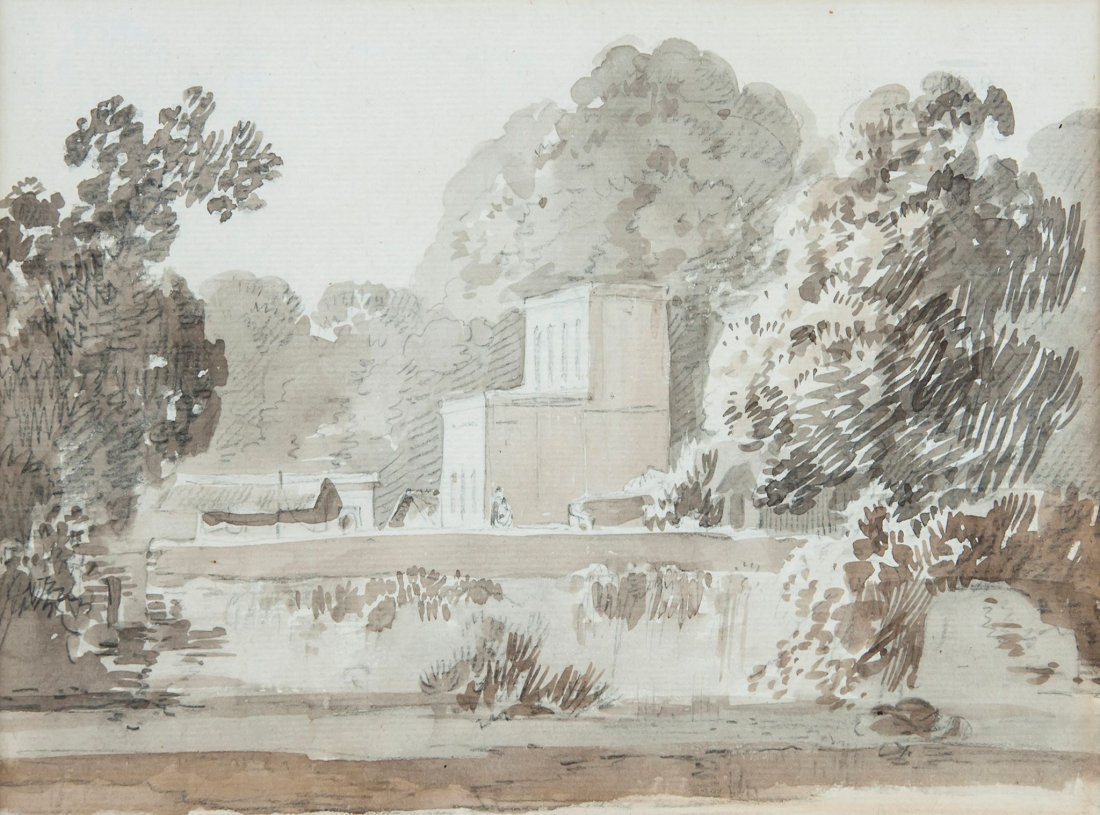 William Daniell (1769-1837) - Indian landscape,