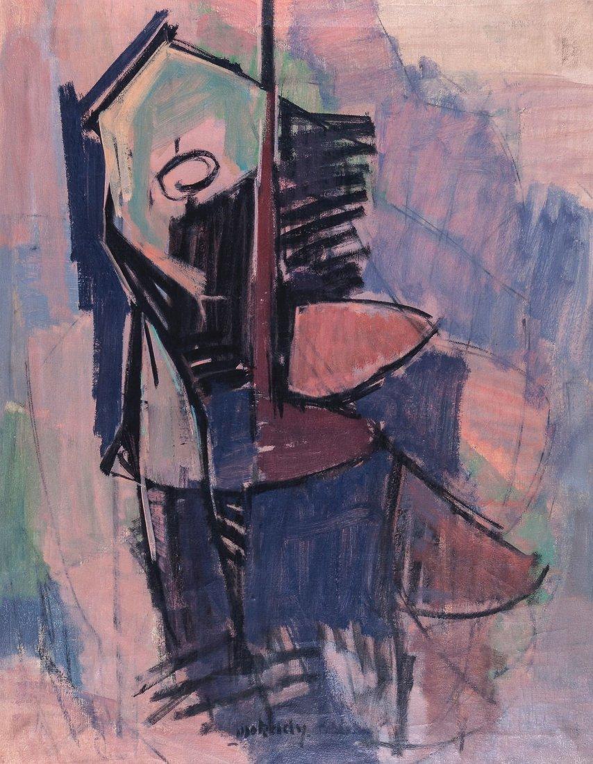 Moshe Mokady (1902-1975) - The Cello Player