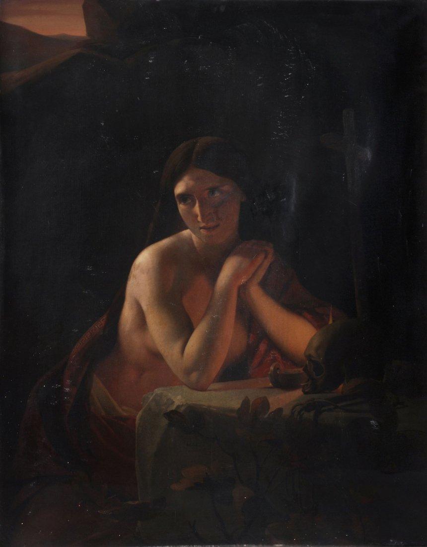 Jan Baptist Lodewijk Maes (1794-1856) - The penitent