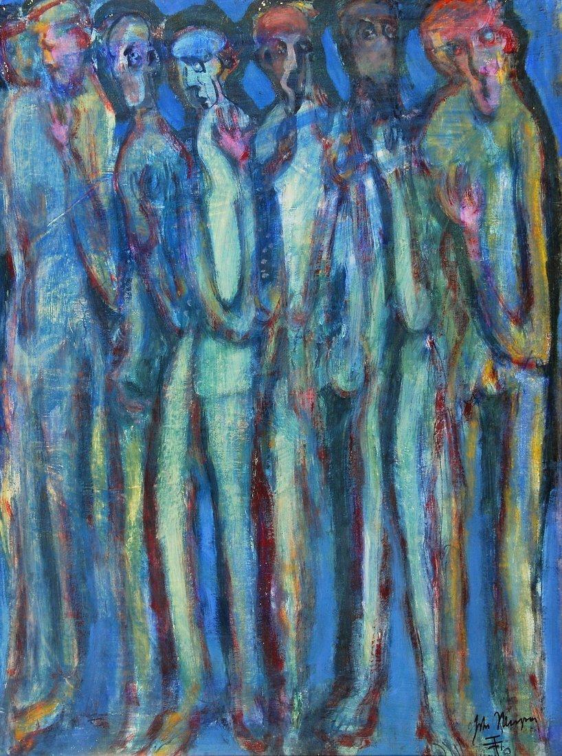 John Thompson (b.1924) - Standing figures