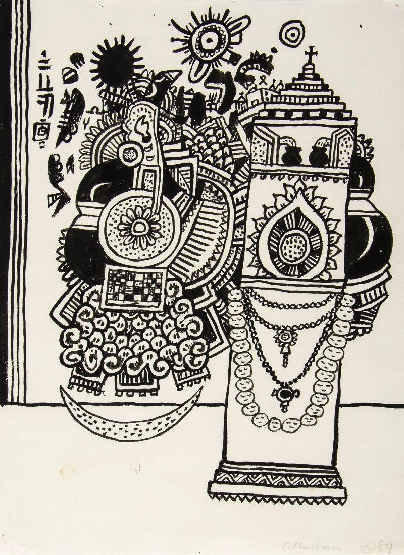 Alan Davie (1920-2014) - Untitled (96)