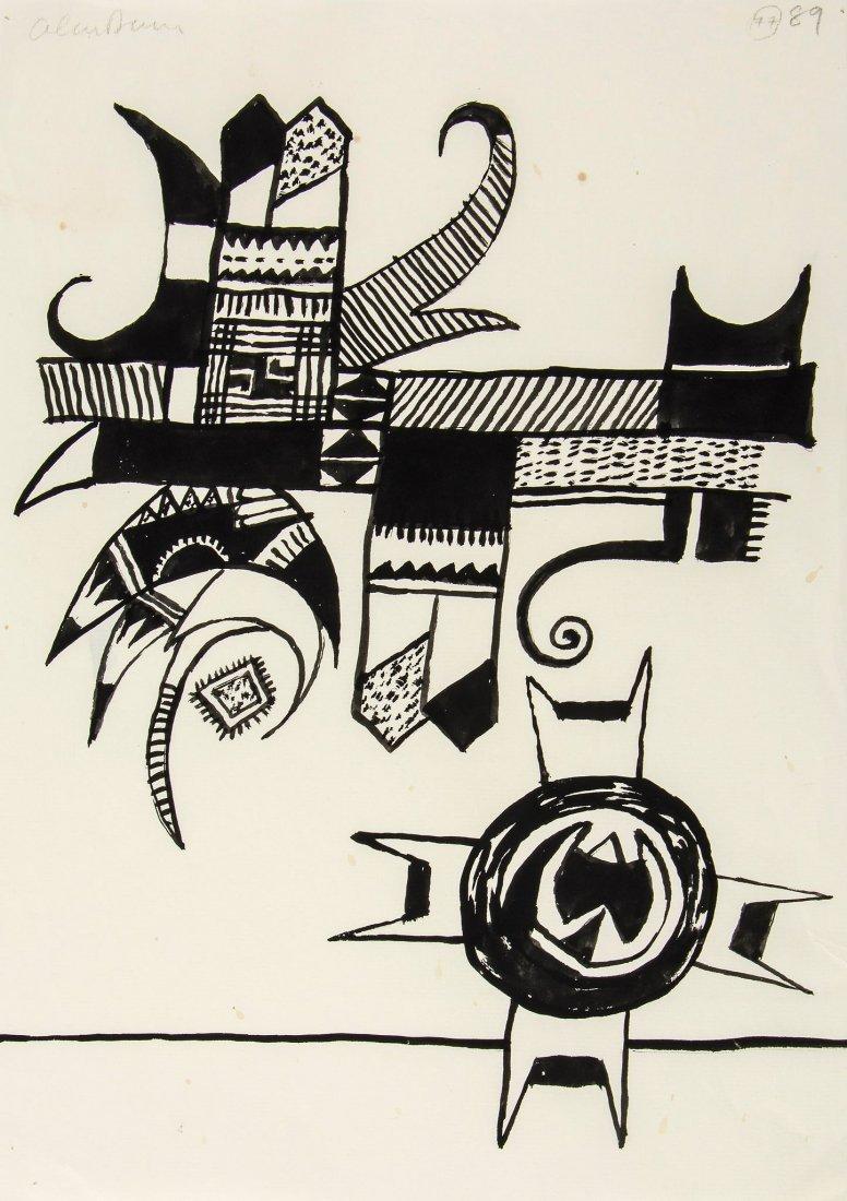 Alan Davie (1920-2014) - Untitled (77)