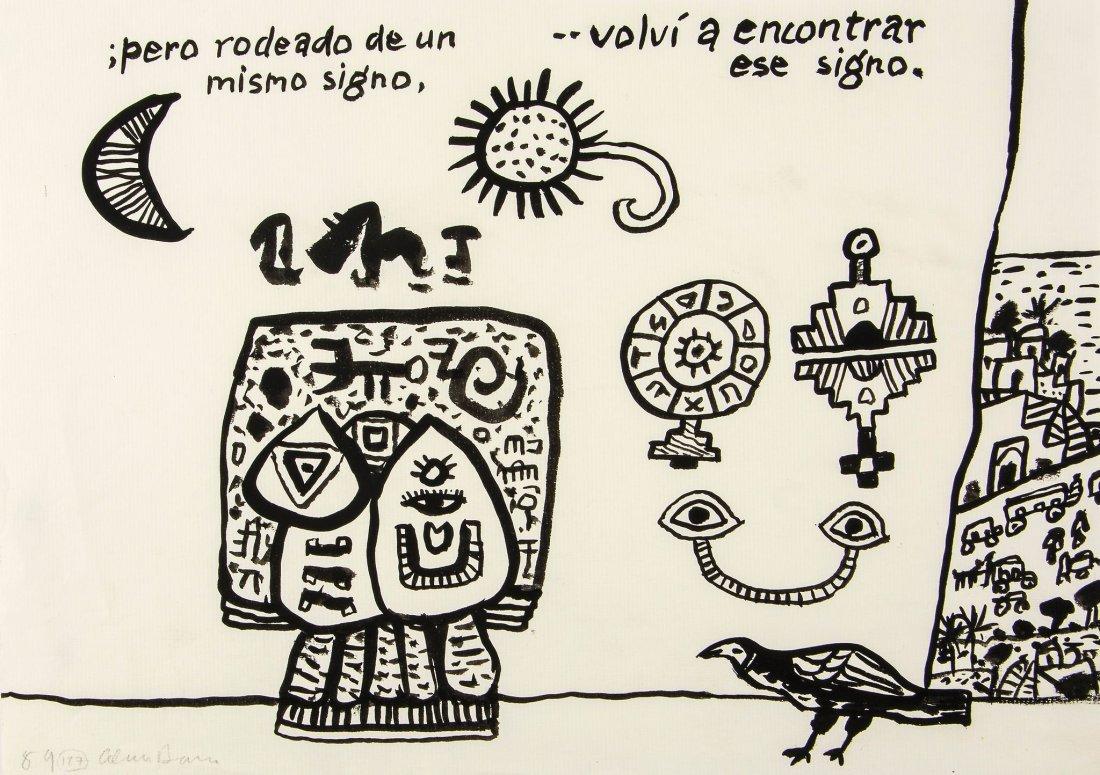 Alan Davie (1920-2014) - Untitled (127)