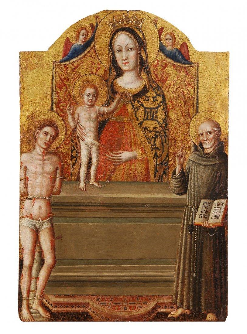 Master of Staffolo, circa 1430-1440 - The Madonna and