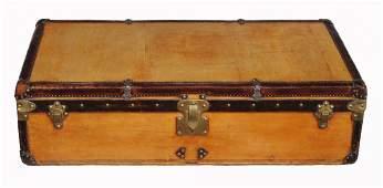 A vintage Louis Vuitton Motoring/cabin trunk , late
