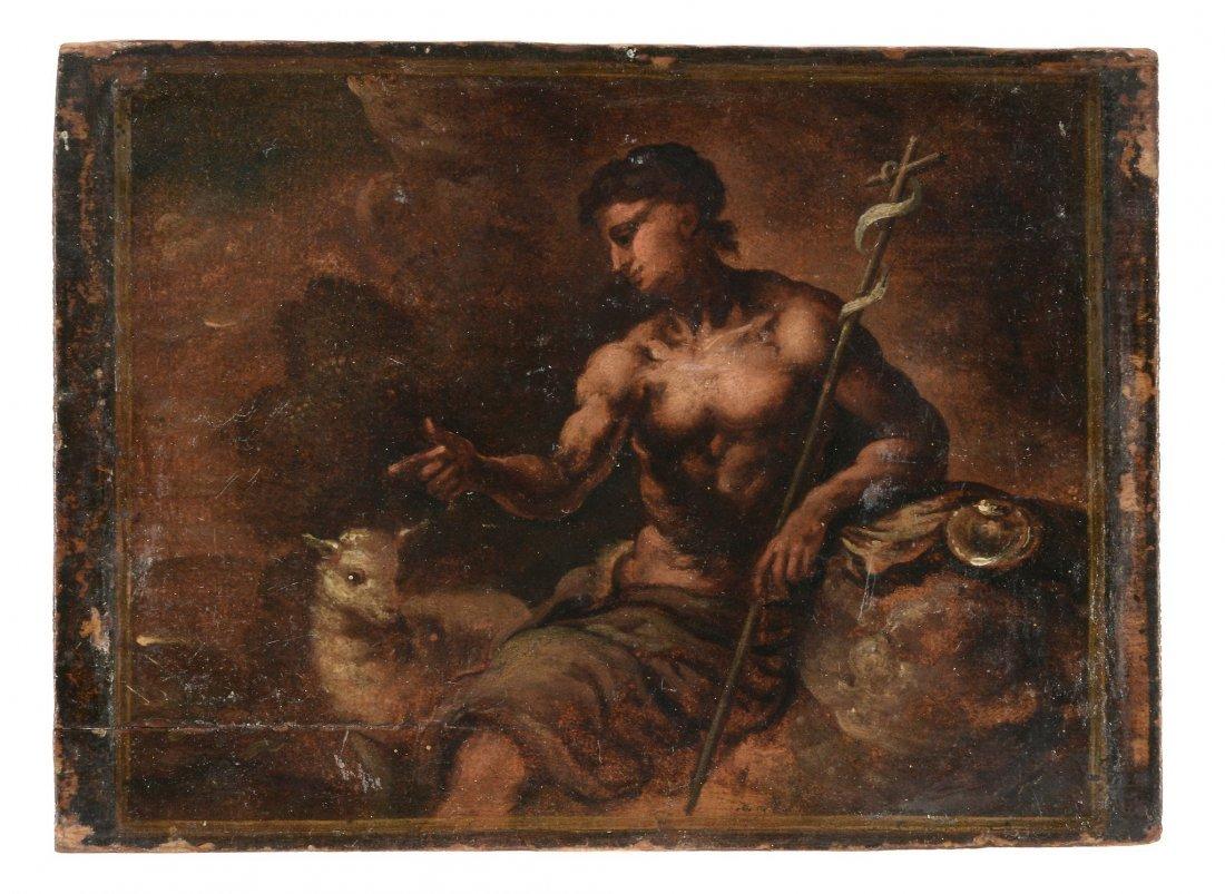 Manner of Carlo Saraceni - St John the Baptist