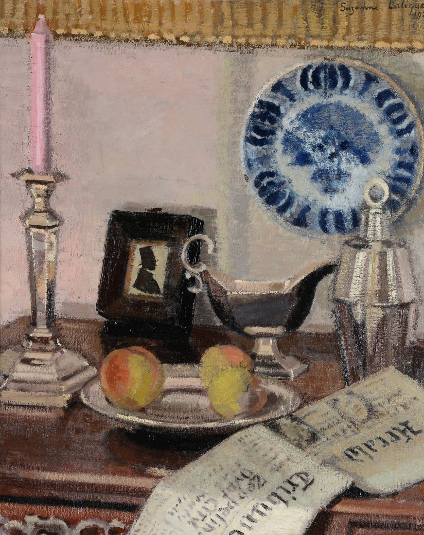 Suzanne Lalique (1892-1989) - A still life of