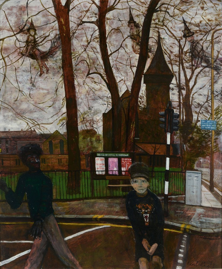 Carel Victor Weight, R.A. (1908-1997) - The Crossing