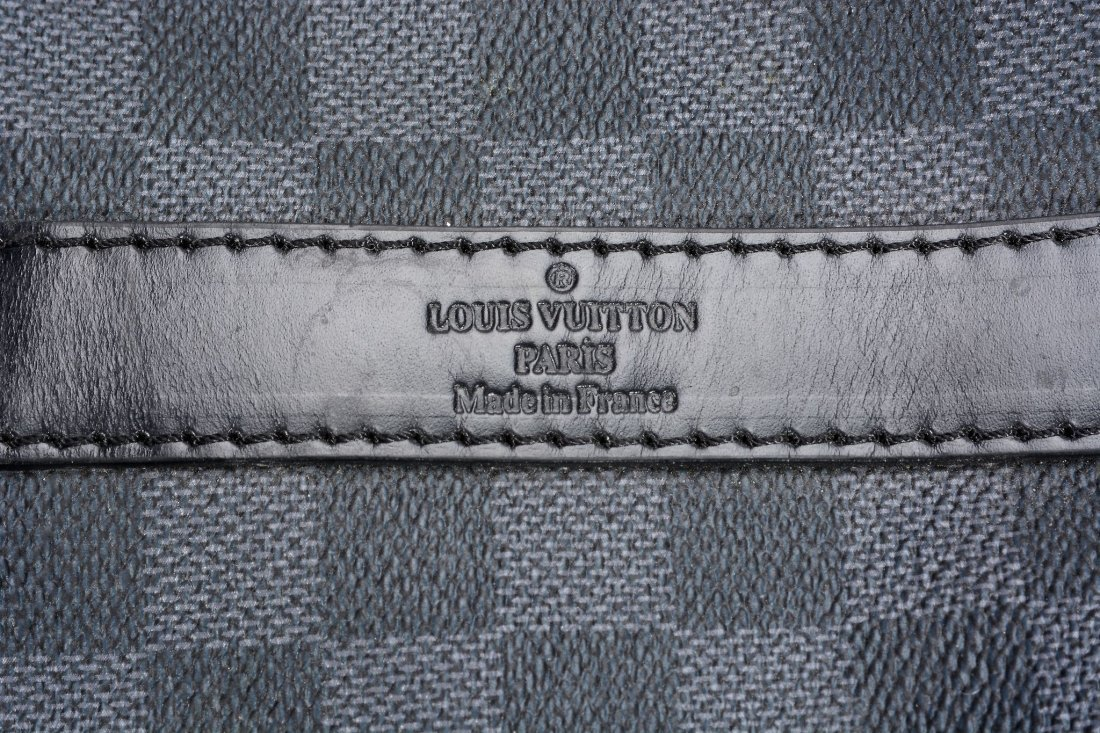 Louis Vuitton, a keepall in Damier Graphite canvas - 2