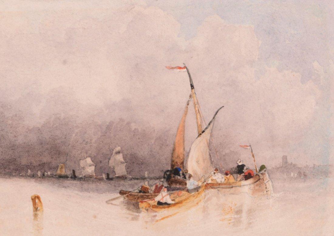 John Wilson Carmichael (1800-1868) - Fishing Boats at