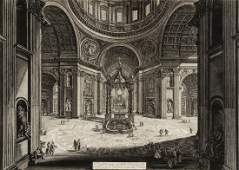 Giovanni Battista Piranesi  (1720-1778) - Veduta