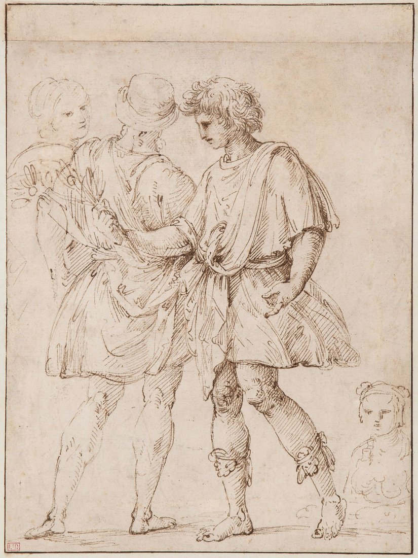 Circle of Lodovico Carracci (1555-1619) - Standing