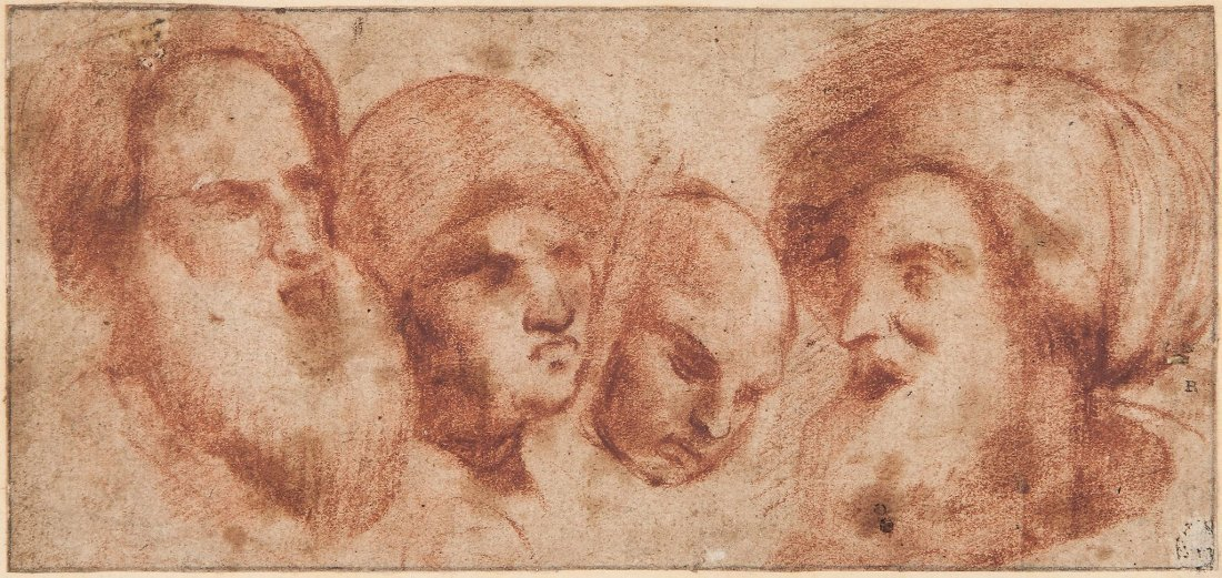 Northern Italian School (possibly 16th century) - Head