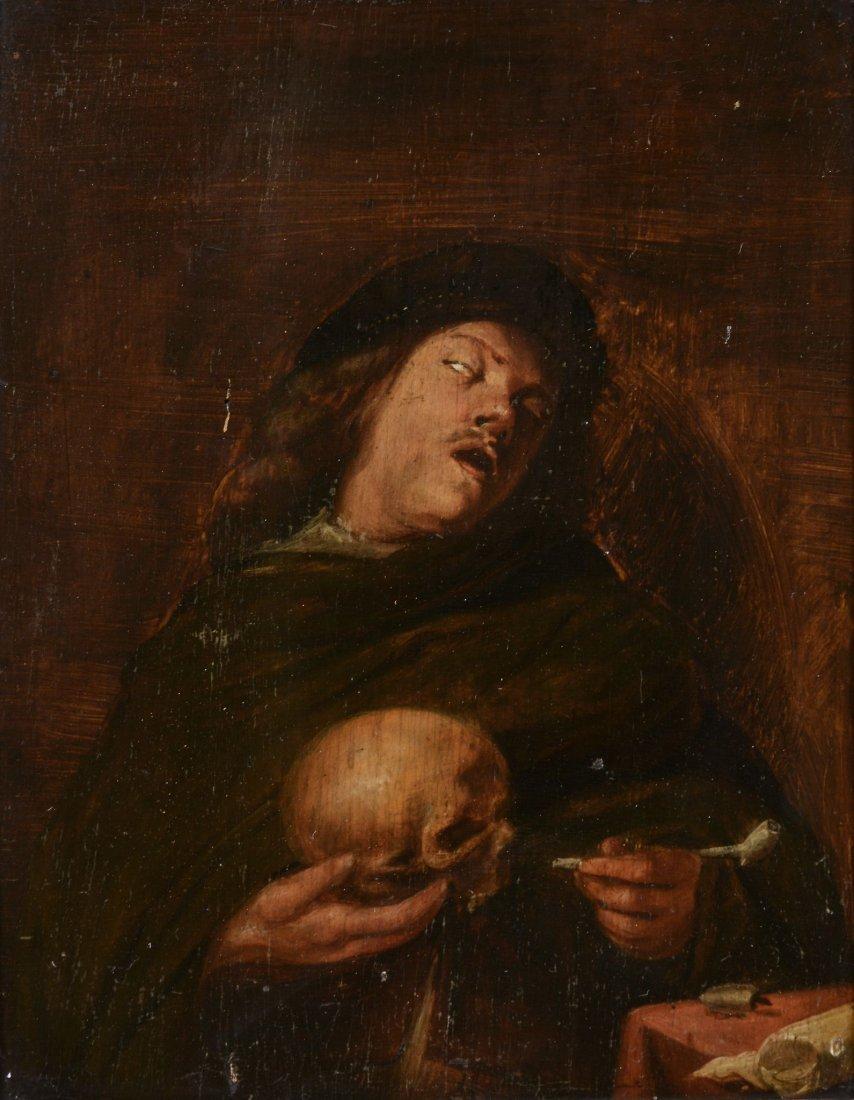 Follower of Joos van Craesbeeck (1605-1661) - Portrait