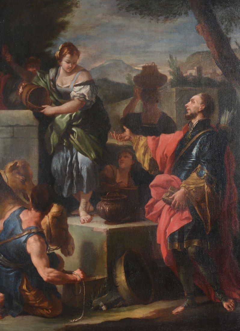 Circle of Francesco Solimena (1657-1747) - Rebecca and
