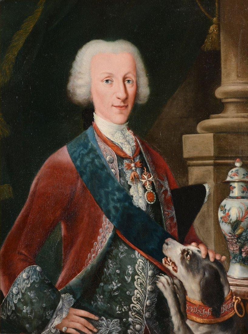 Circle of Sebastiano Ceccarini (1703-1783) - Portrait